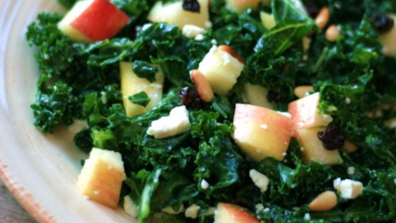 Photo of Kale and Feta Salad by Leslie