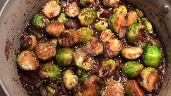 Photo of Balsamic Brussels Sprouts by Melissa