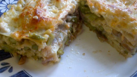 Photo of Roasted Asparagus and Mushroom Vegetarian Lasagna by Bill Jol