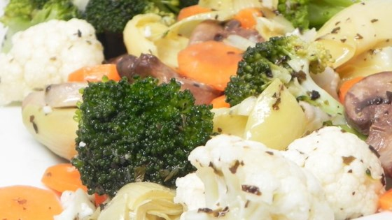 Photo of Marinated Vegetable Medley by Paula