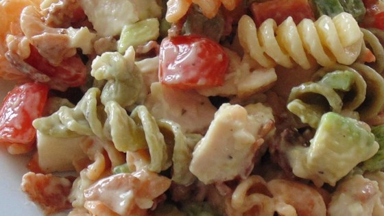 Photo of Chicken Club Pasta Salad by Lane J