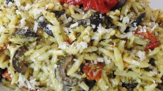 Photo of Orzo with Sun-Dried Tomatoes and Kalamata Olives by Karli Shanklin