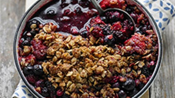 Photo of Fresh Fruit and Berry Crumble by United Soybean Board