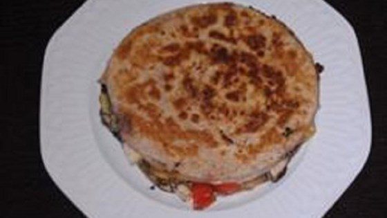 Photo of Chicken and Vegetable Quesadillas by Nicki