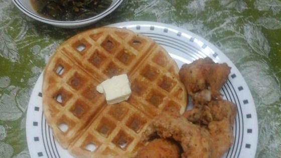 Waffle Iron Cornbread