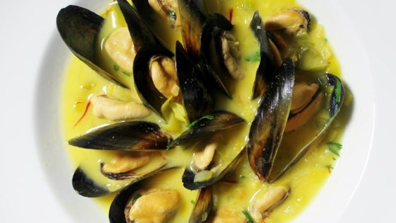 Photo of Saffron Mussel Bisque by MARBALET