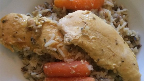 Photo of Chicken and Wild Rice Slow Cooker Dinner by Kari