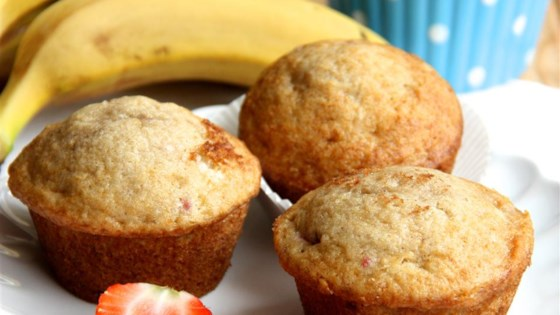 Photo of Banana Strawberry Muffins by Dianashh