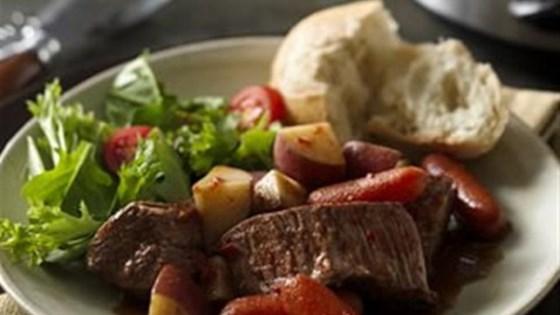Photo of Easy Slow Cooker Fire Roasted Pot Roast by Progresso™ Recipe Starters™
