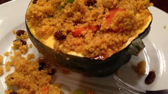 Photo of Moroccan-Style Stuffed Acorn Squash by TRUCKERDOO