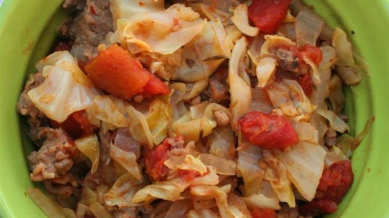 Ground Beef and Cabbage Recipe - Allrecipes com