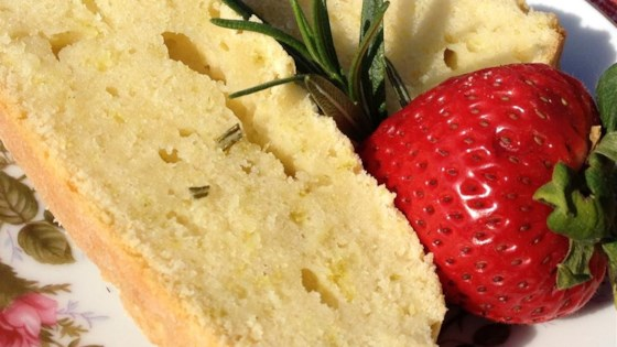 Photo of Rosemary Orange Pound Cake by dieselanne