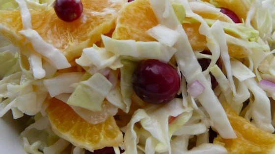 Photo of Cranberry Coleslaw by WINNIFRED