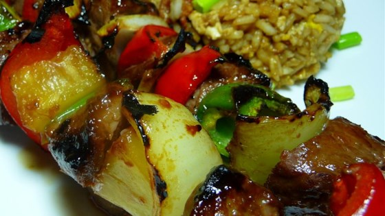 Photo of Teriyaki Beef Kabobs by karebear