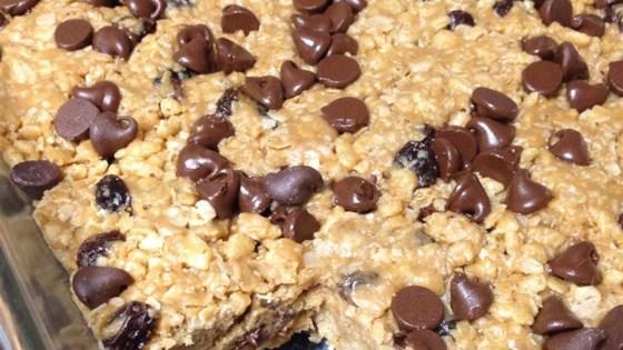 Photo of Josephine's No-Bake Granola Bars by cookiegirl40
