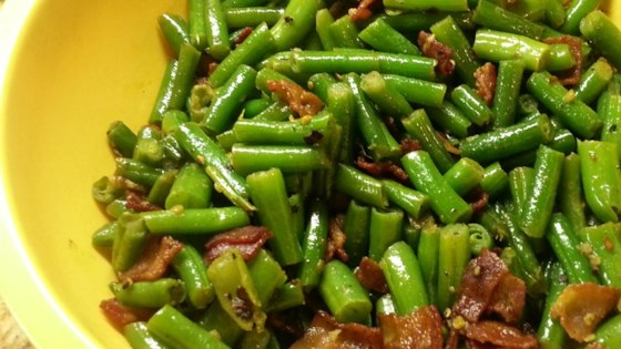 Photo of Green Bean and Bacon Saute by CHERYL H.