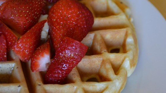 Photo of Tender and Easy Buttermilk Waffles by empebi