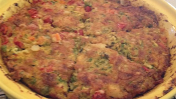 Photo of Zucchini Pie by Kim Graber