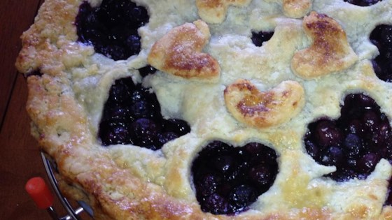 Photo of Grandma's Blueberry Pie by Natalie