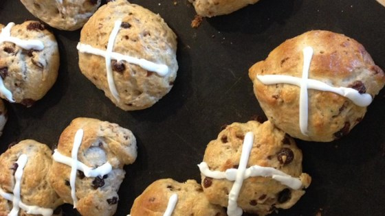 Photo of Easter Hot Cross Buns by Violet