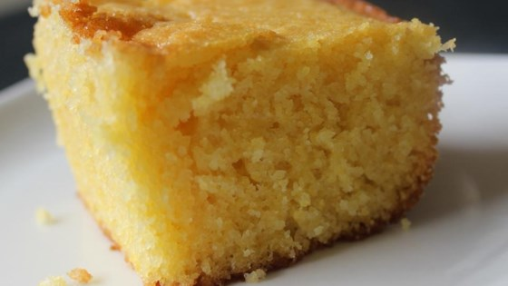Photo of Sweet Cornbread Cake by myfoursonsks
