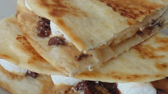 Photo of Dessert Quesadillas with Peanut Butter, Chocolate, and Marshmallow by Jenni