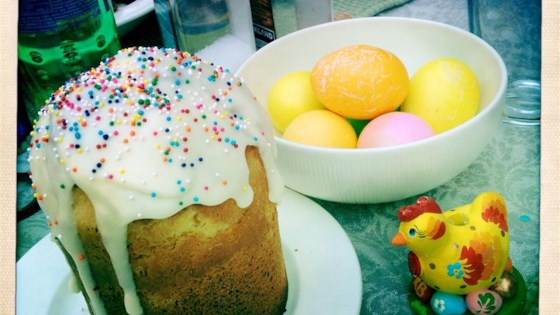 Photo of Kulich (Russian Easter Cake)  by babylee