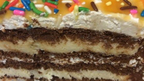 Photo of Easy Ice Cream Cake by KLONGMORE