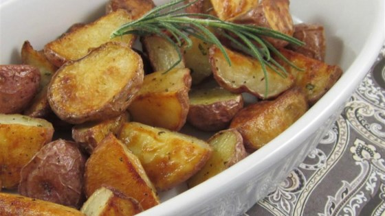 Photo of Early Morning Oven Roasted New Potatoes by DJFoodie