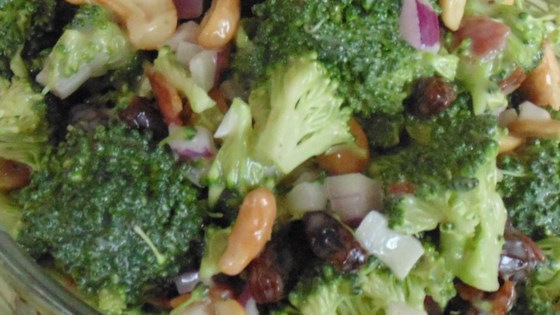 Photo of Sweet and Savory Broccoli Salad by Eric Bassett