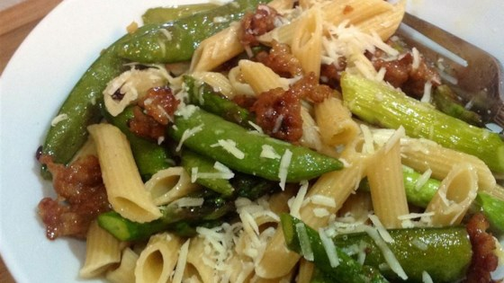 Photo of Penne with Spring Vegetables by Jessica