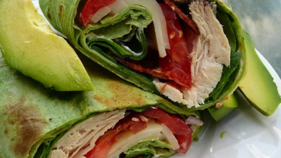 Photo of California Club Chicken Wraps by BethAnne923