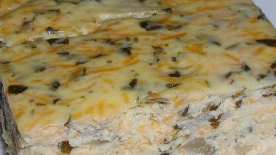 Photo of Simple Crustless Spinach and Mushroom Quiche by hrgdane