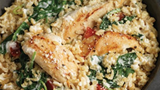 Photo of Quick Chicken and Spinach Risotto by Minute Rice