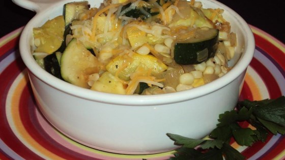 Photo of Corn Zucchini Skillet by EcoCrafty