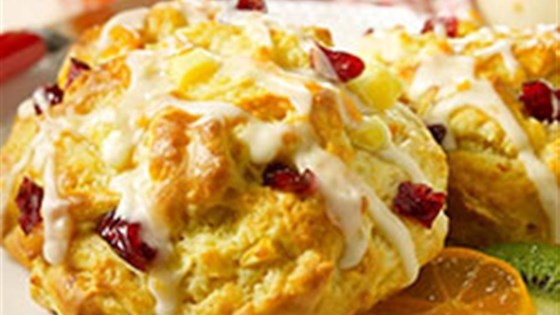 Photo of Pear Cranberry Scones by Silk