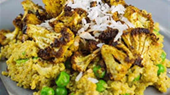 Photo of Curried Quinoa Veggie Bowl by Silk