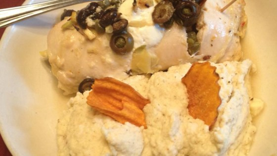 Photo of Stuffed Chicken Breasts with Artichoke Hearts, Feta Cheese, Capers, and Black Olives by JennCD