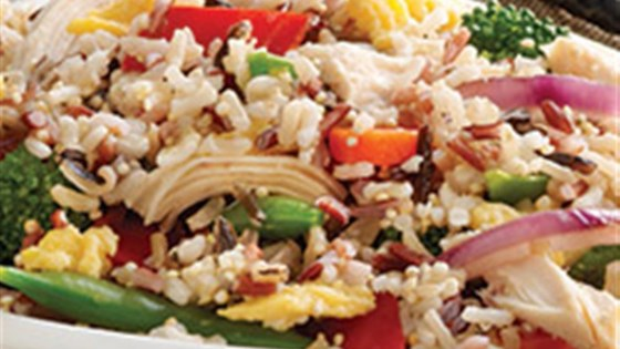 Photo of Chicken and Multi-Grain Stir Fry by Minute Rice
