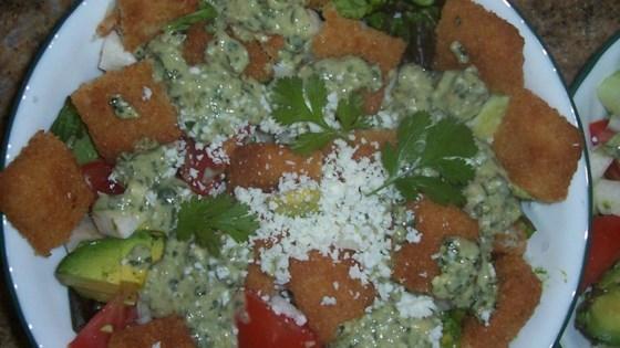 Photo of Fish Taco Salad by Carol West Kennedy