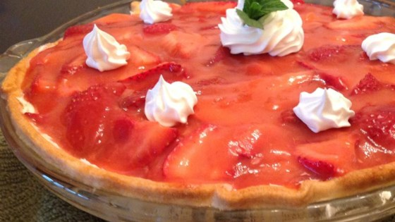 Photo of Rock Creek Lake Fresh Strawberry Pie by SUUNKISSED
