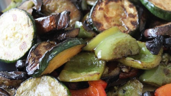 Photo of Grilled Vegetables with Balsamic Vinegar by Natasha