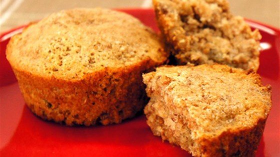 Multigrain Cranberry Pecan Muffins