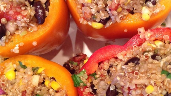 Photo of Quinoa Stuffed Peppers by Amanda