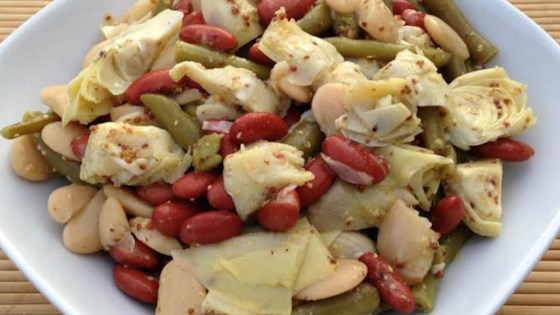 Photo of Three Bean and Artichoke Salad by Caroline Growcott