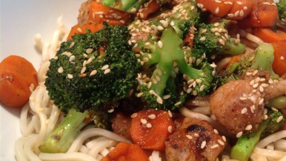 Photo of Pork, Apple, and Ginger Stir-Fry with Hoisin Sauce by Jenny G.