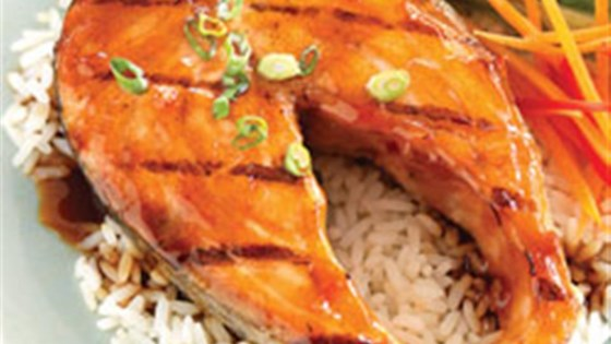 Photo of Teriyaki Ginger Salmon Marinade by Kikkoman