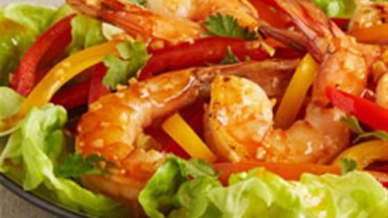 Photo of Spicy Thai Shrimp Salad by Kikkoman