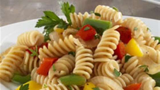 Photo of Barilla PLUS® Rotini with Three Peppers and Herbs by Barilla®