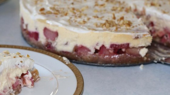 Photo of Rhubarb Cheesecake by Barb